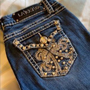 Women's L. A. Idol USA Jeans Size 11